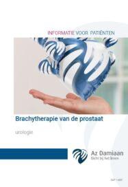 Urologie Brachytherapie Van De Prostaat Sap 14881