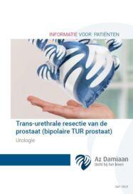 Urologie Transurethrale Resectie Van De Prostaat Sap 15925