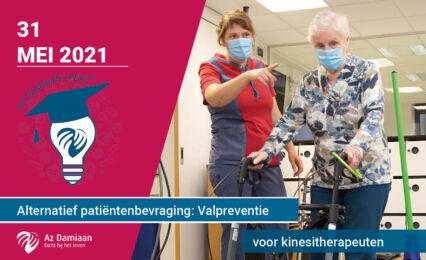 Vorming Alternatief Patientenbevraging Valpreventie 2021