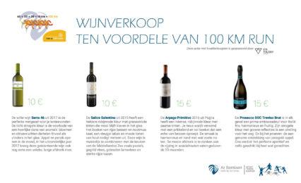 Wijnverkoop 100 Km Run 2020