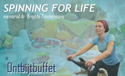 Spinning For Life Ontbijtbuffet
