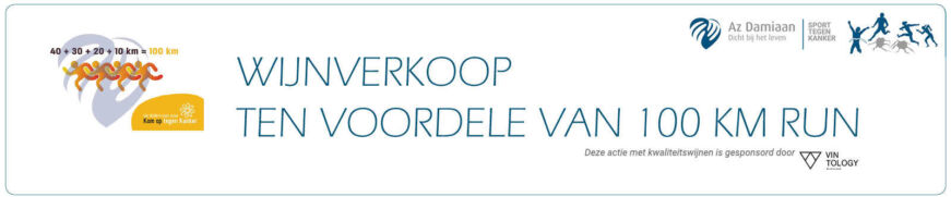Wijnverkoop 100 Km Run 2020 Website Banner