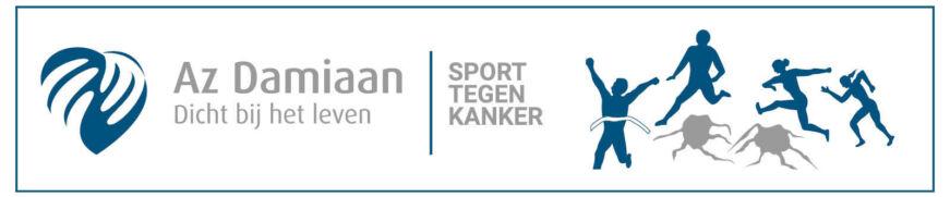 Az Damiaan Sport Tegen Kanker Banner