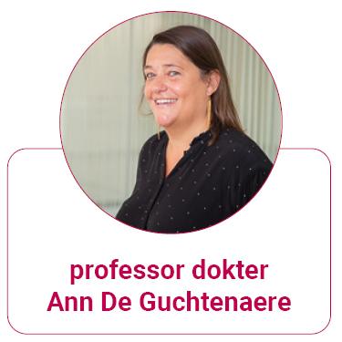 professor dokter Ann De Guchtenaere
